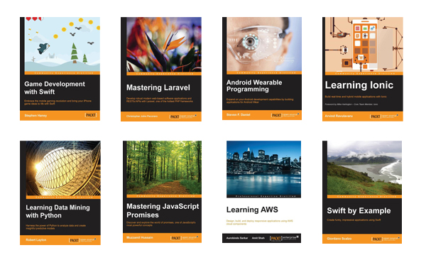 Some of our latest eBooks for subscribers