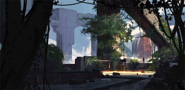New Course: Creating Compelling Environments for Concept Art