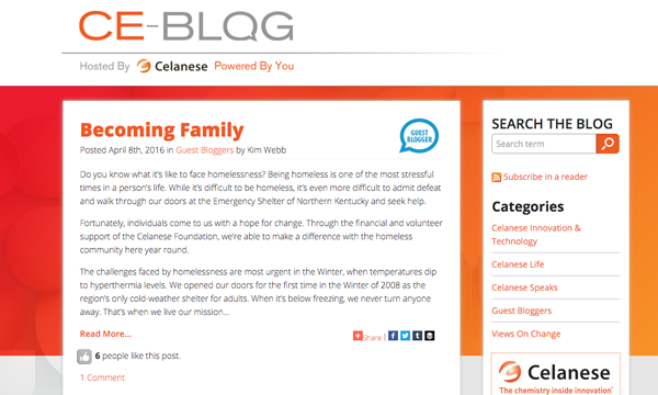 Celanese blog