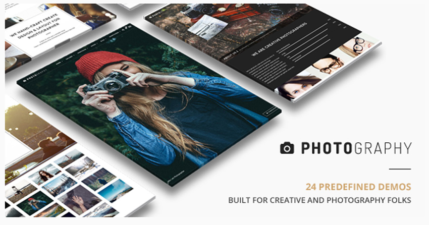 Responsive Photography Theme on Envato Market