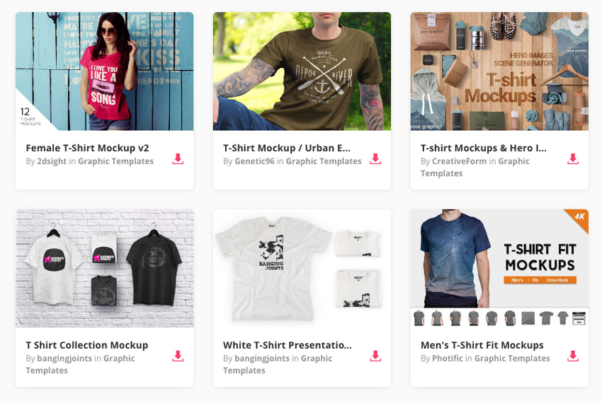a5471ac2b For example, this Summer T-Shirt Mockup allows you to showcase your T-shirt  designs in four different summer scenes.
