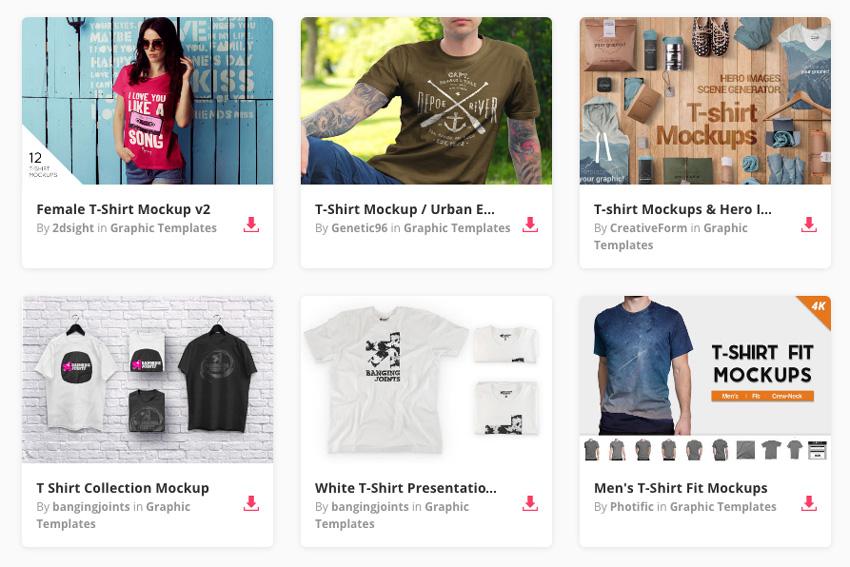 20+ Plantillas de Maqueta PSD para camisetas (con resultados ... 162aae66236