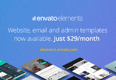 Now Available: Web Templates on Envato Elements
