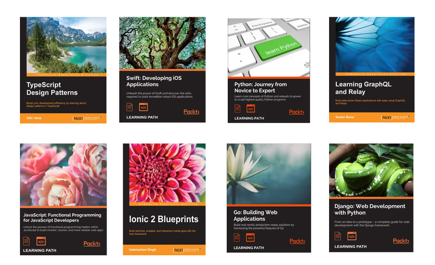 our new selection of code eBooks