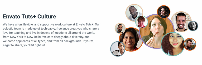 teach at Envato Tuts