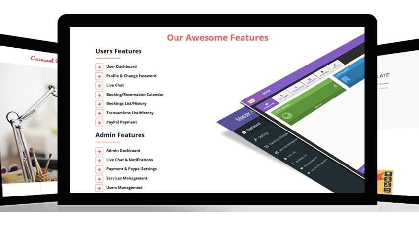 Laravel Booking System