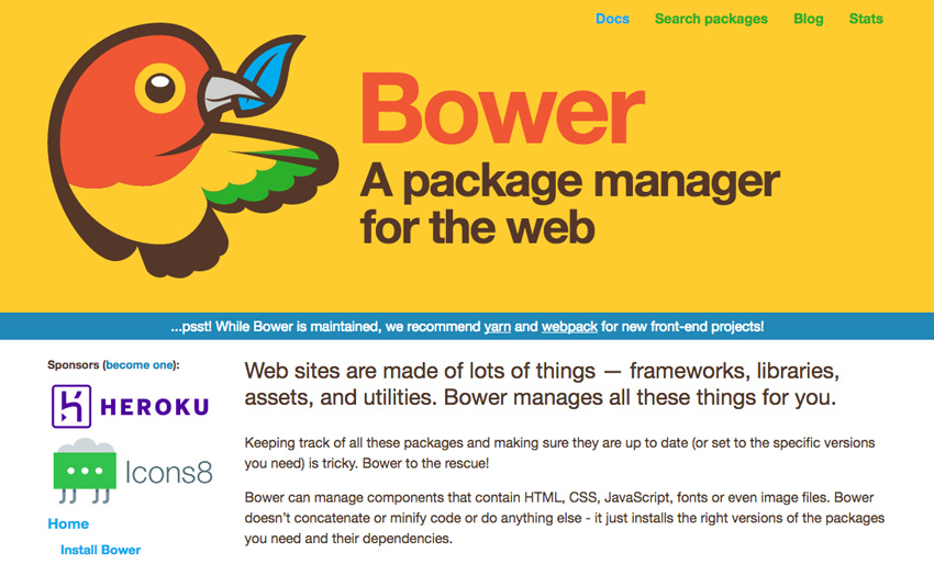 A Quick Guide to Dependency Management With Bower