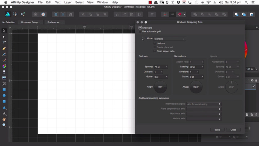 How to Set Up Grids in Affinity Designer