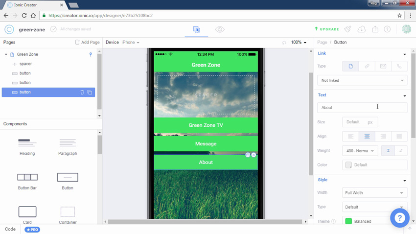 New Course: Easy Mobile Apps With Ionic Creator
