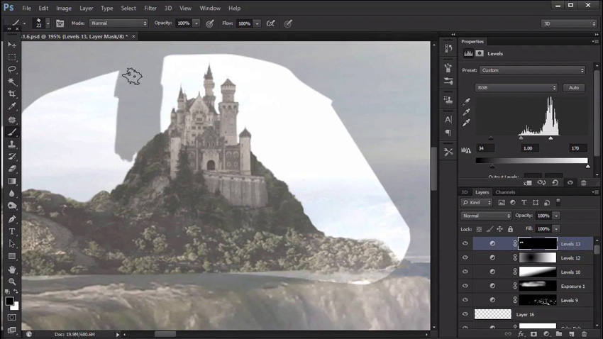 New Course: Introduction to Digital Matte Painting