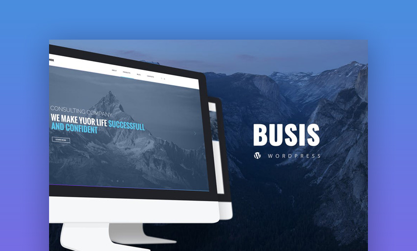Busis  Business  Corporate WordPress Theme