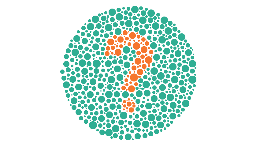 color blindness in men Why is the percentage of color blindness among men so much greater than the percentage among women.