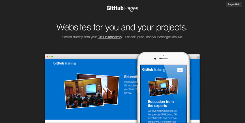 New Short Course: Create a Free Website With GitHub Pages