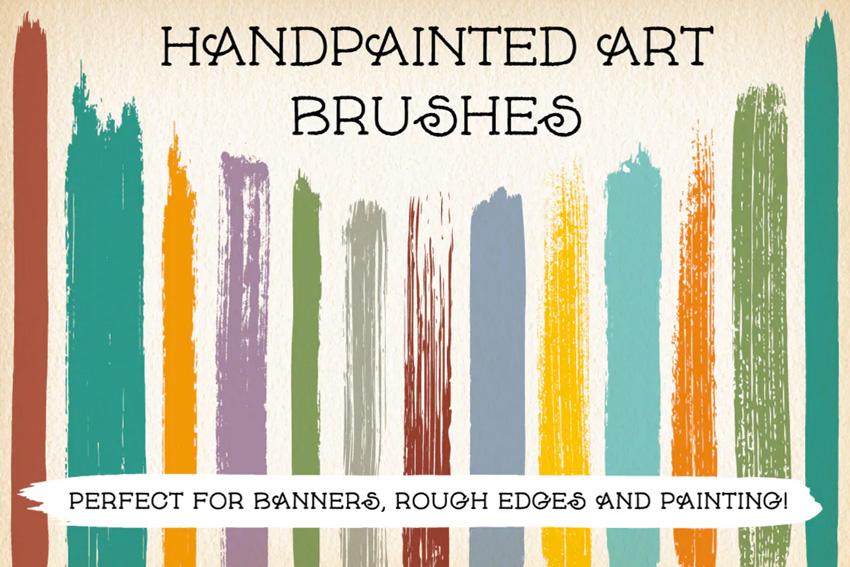 Hand-Painted Illustrator Art Brushes