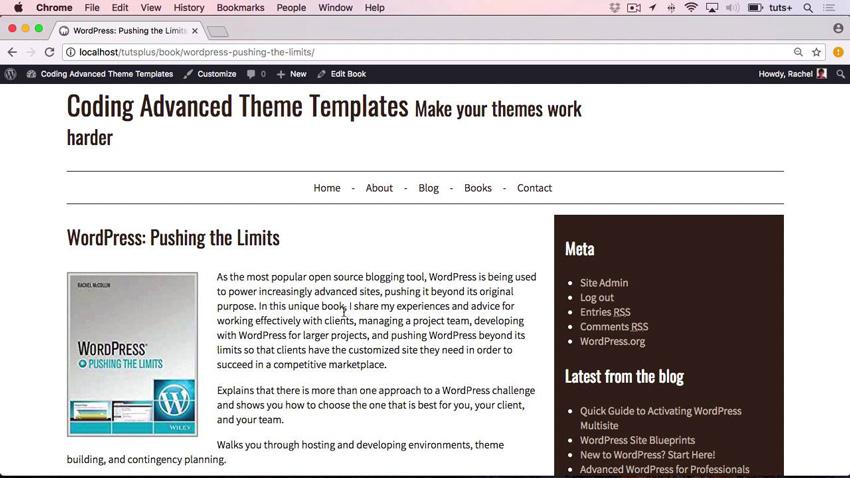 Coding Advanced Theme Templates