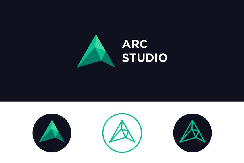 ARC Studio logo design