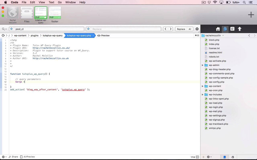 WP_Query creating a custom WordPress query
