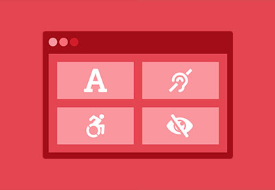 Website accessibility with aria roles 400x277