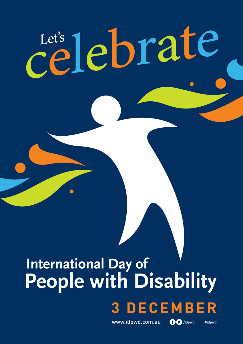 International Day of People With Disability poster