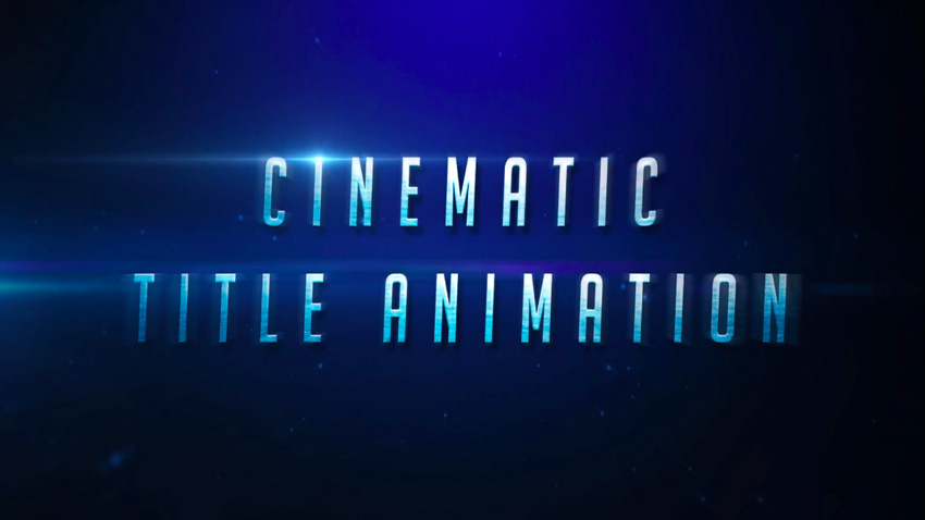 Create a Cinematic Text Animation in Adobe After Effects