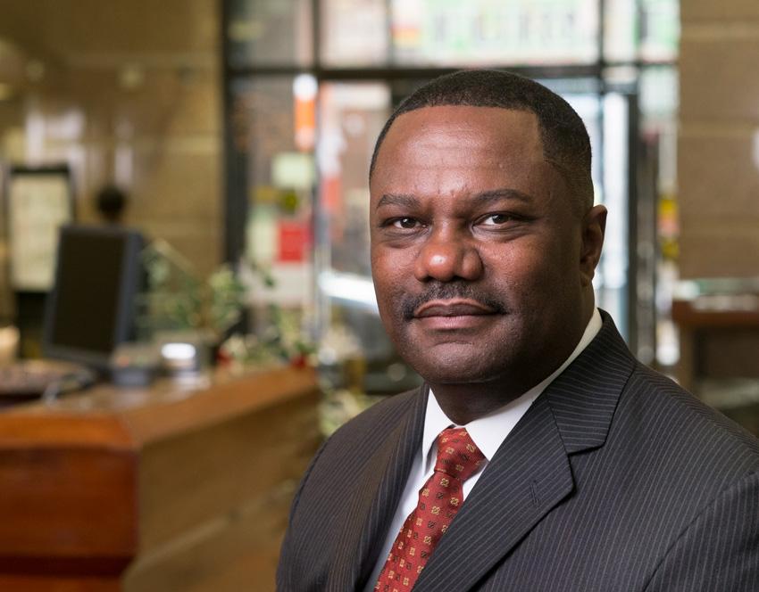 Michael Pugh CEO of Carver Federal Savings Bank