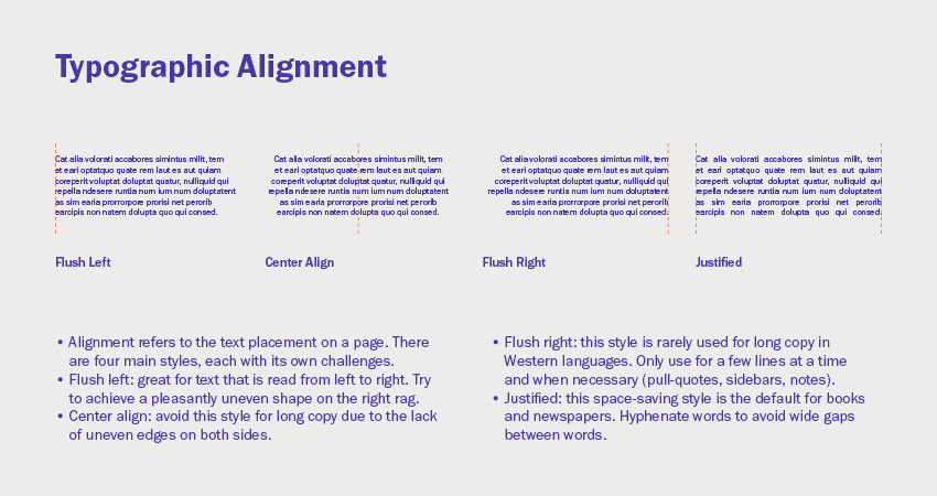 Typographic alignment