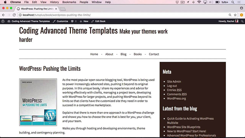 Coding Advanced WordPress Theme Templates
