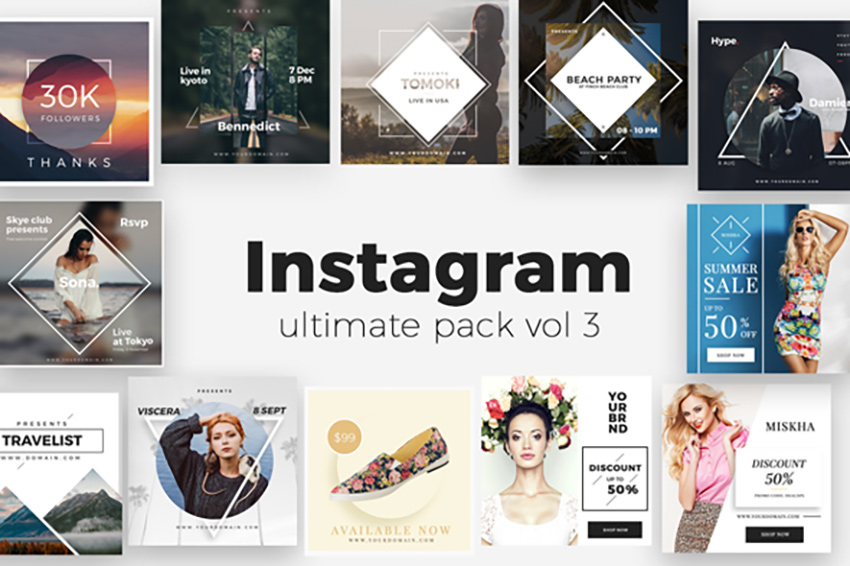 Instagram Pack Vol 3