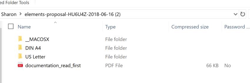 explore project proposal template word folder