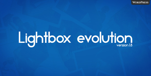 Lightbox Evolution for WordPress