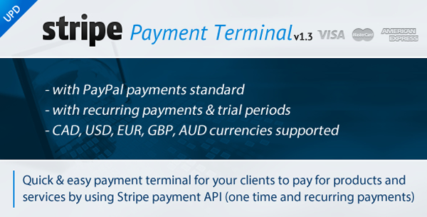 Stripe Payment Terminal on Envato Market