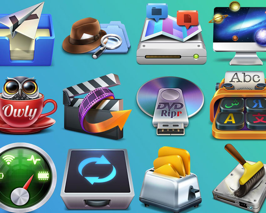 Stunning Mac OS X App Icon on Envato Studio