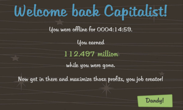 AdVenture Capitalist Idle Screen