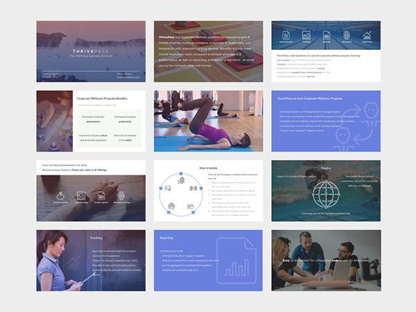 Design presentation deck for lionhead branding & logo idapostle.