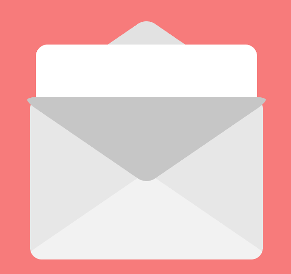 creating the pocket for the second email icon