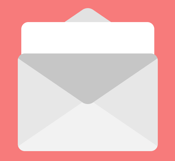 second email icon pocket with clipping mask applied