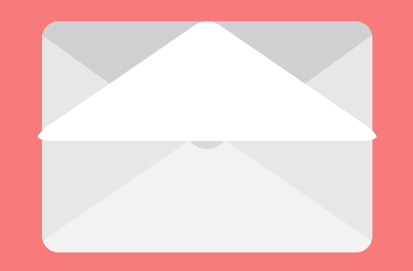 horizontal reflecting the second email icons top section
