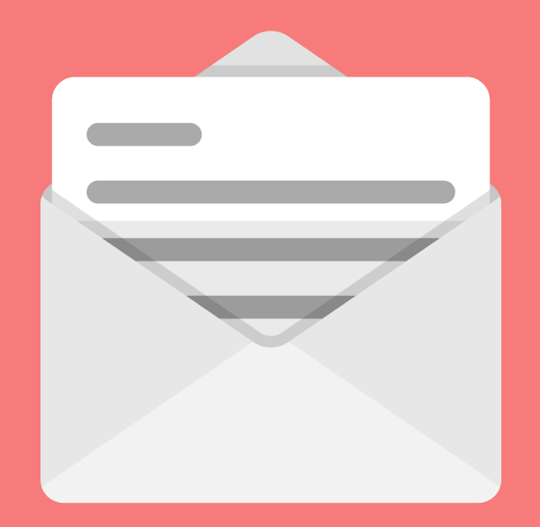 adding the top section shadow to the second email icon