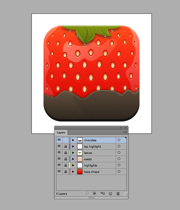 Quick Tip: How to Create a Stylised Strawberry Icon in Adobe Illustrator