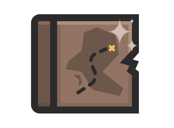 adding the star-shaped highlights to the map icon