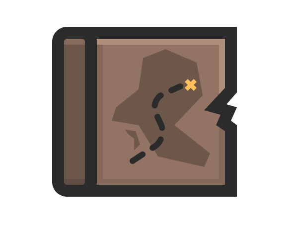 adding the treasure indicator to the map icon