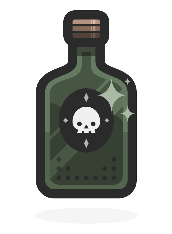 rum bottle icon finished