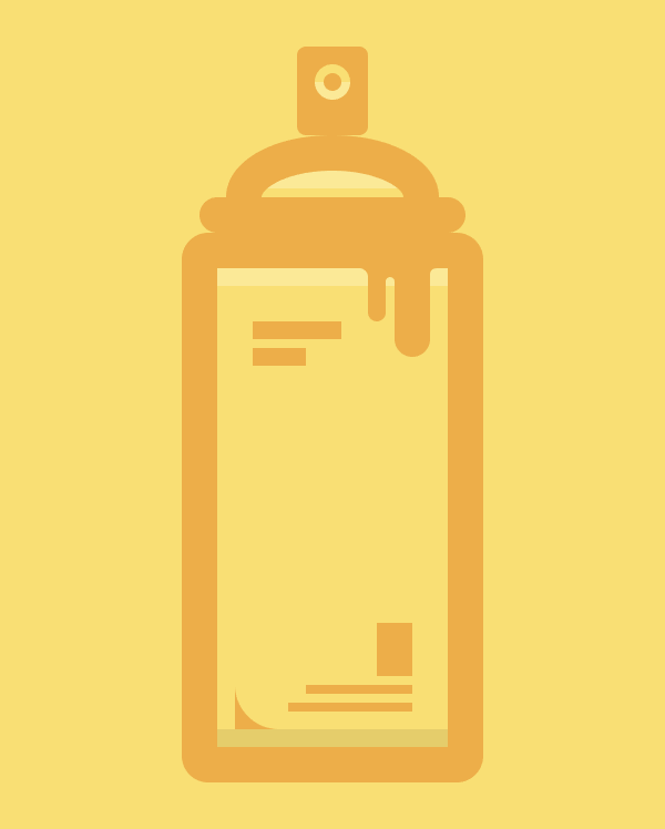 spray can icon without diagonal highlights