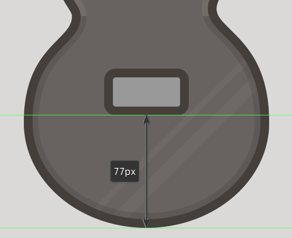 placing the base pickup shape