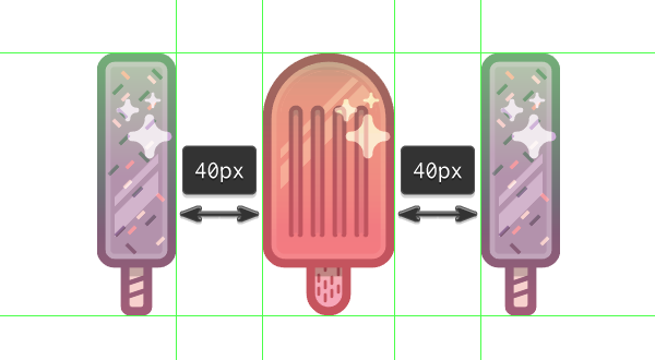 creating the third icon using the first one