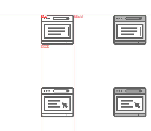example-of-created-slices-around-the-first-icon