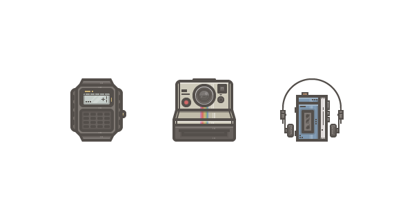How to Create a Retro Tech Icon Pack in Adobe Illustrator
