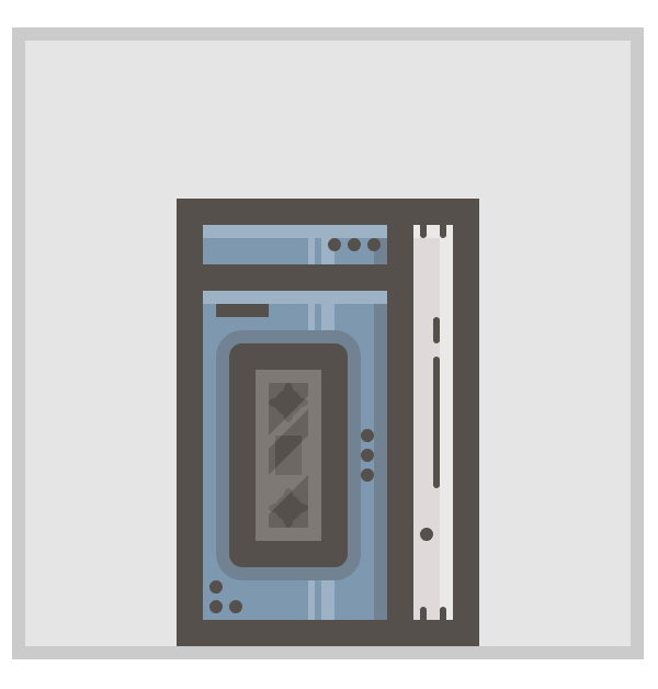adding detail elements to the walkman icon