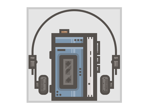 sony walkman icon finished