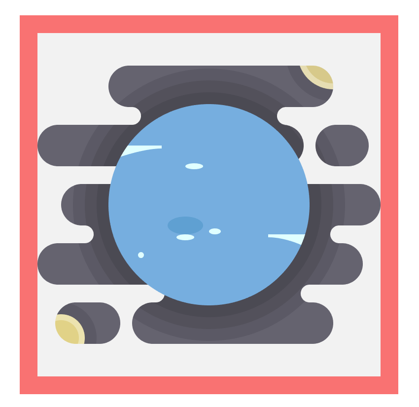 adding color spots to the neptune icon